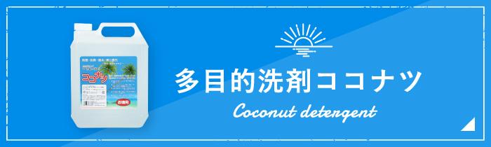 多目的洗剤ココナツ
