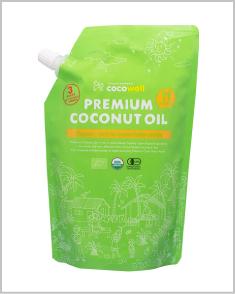 天然の中鎖脂肪酸で健康ダイエット・プレミアム ココナッツオイル 460g
