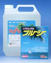 ココナッツ洗剤,多目的洗剤,ココナツ,お徳用4リットル1個,+ブルーシ1個セット販売,